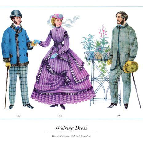 ASIII13 Walking Dress 1864-1866