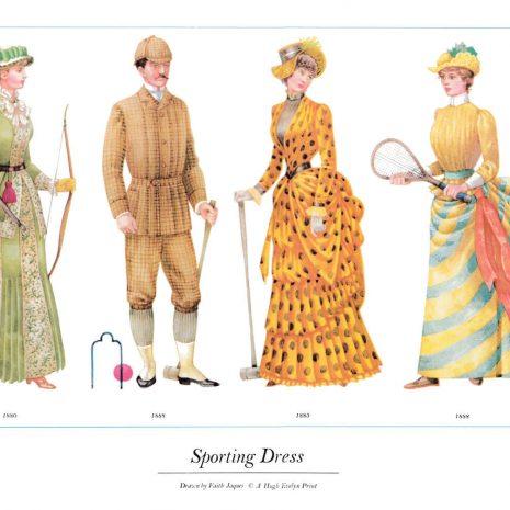 ASIII16 Sporting Dress 1880-1888
