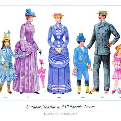 ASIII17 Outdoor, Seaside and Children's Dress 1885-1886