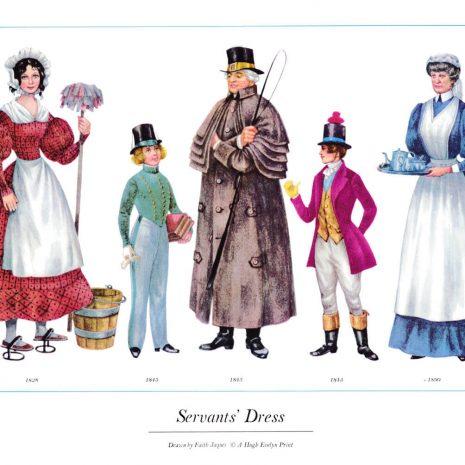 ASIII18 Servant's Dress 1828-1890