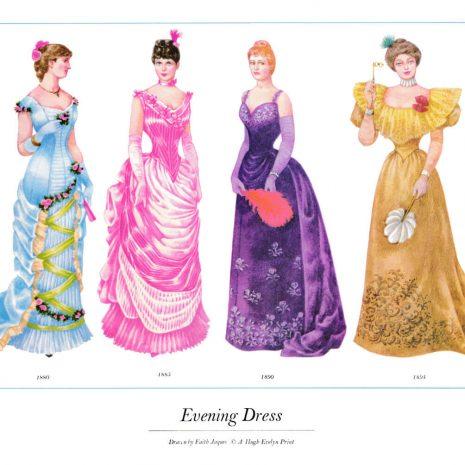 ASIII19 Evening Dress 1880-1894