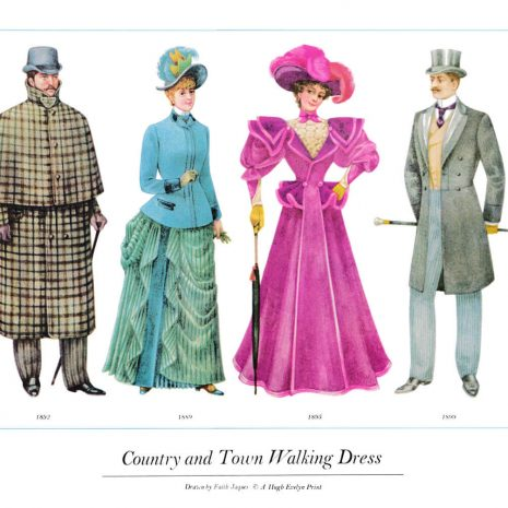 ASIII20 Country and Town Walking Dress 1892-1899