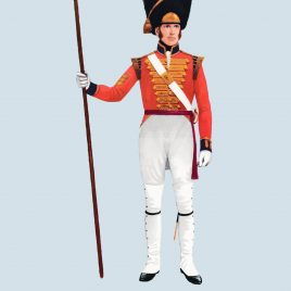 Sergeant, Grenadier Company, 1st Guards, 1815 (Grenadier Guards)