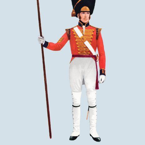 ATII09 Sergeant, Grenadier Company, 1st Guards, 1815