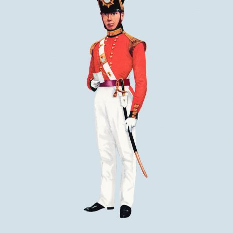 ATII15 Officer, Light Company, 45th Foot, The Sherwood Foresters,1831