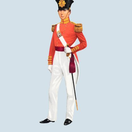 ATII19 Officer, 76th Foot, The Duke of Wellington's Regiment, 1837