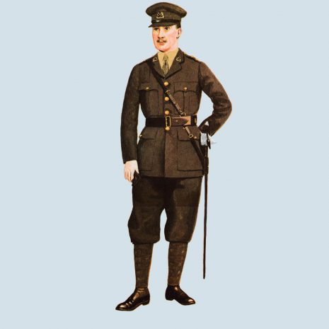 ATIII16 Subaltern, South Staffordshire Regiment, 1925