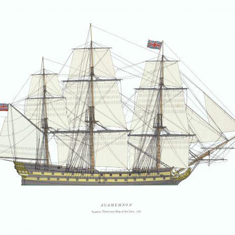 AXI04 HMS Agamemnon 1781