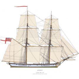 HMS Alert, 14 guns Brig, 1790