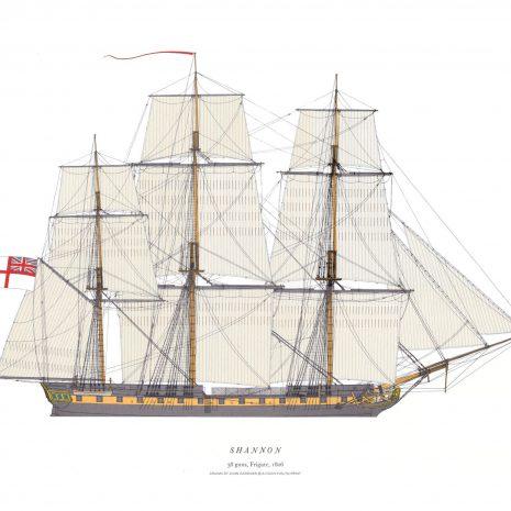 AXI07 HMS Shannon 1806