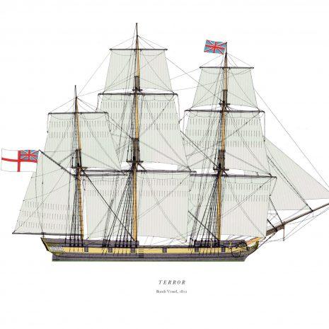 AXI09 HMS Terror 1815