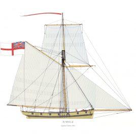 HMS Nimble, 14 guns, Cutter, 1812