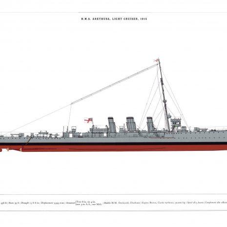 AXII09 HMS Arethusa
