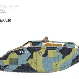 Mark V tank (MALE),1918