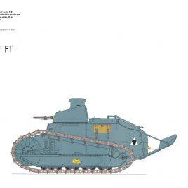 Renault FT Light Tank,