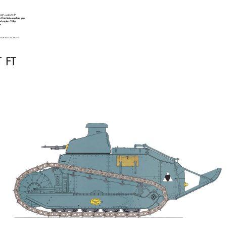 AY02 Renault FT tank 1918