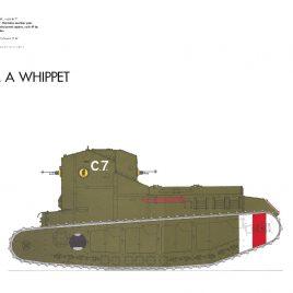 Medium A Whippet Light Tank, 1918