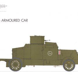 Peerless Armoured Car (1919 Pattern)
