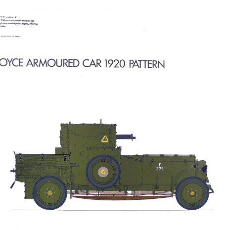 AY05 Rolls Royce Armoured Car 1920