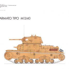 Carro Armato (Fiat) M14/40 tank 1941