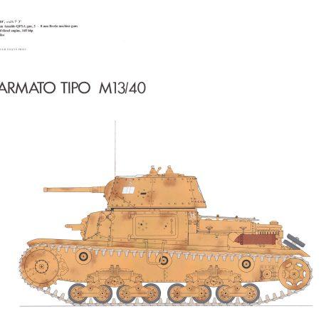AY06 Carro Armato Tipo M 13-40 1940
