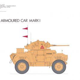 Daimler Mark I Armoured Car, 1941