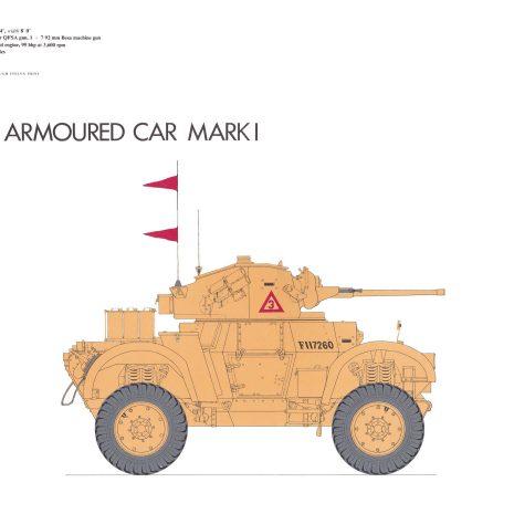 AY07 Daimler Armoured Car, Mark I 1941