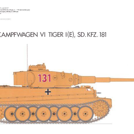 AY08 Panzerkampfwagen Tiger 1 1942