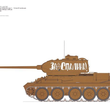AY10 T34-85 tank 1944