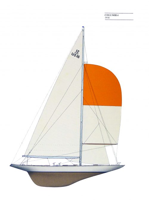 America's Cup Yachts 1851-1970