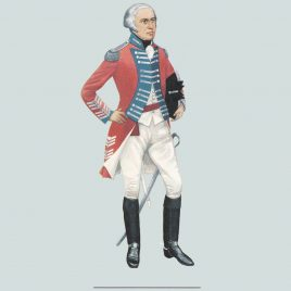 Field Officer, The Leicestershire Yeomanry, 1794