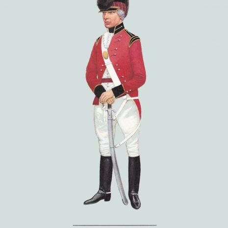 AZ03 Officer, Shropshire Yeomanry, 1803