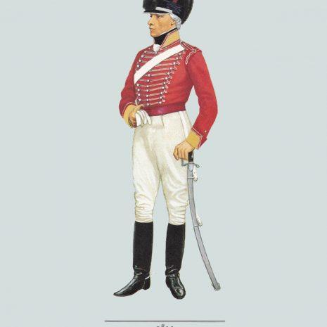 AZ04 Officer, South Nottinghamshire Yeomanry, 1803