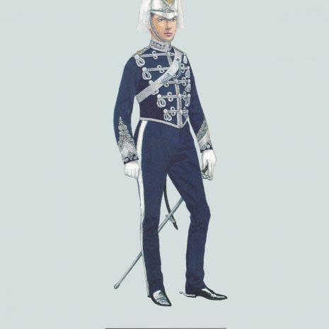 AZ09 Officer, Hampshire Carabiniers, 1890