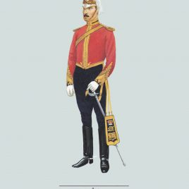 Field Officer, Lothians and Berwick Horse, 1892