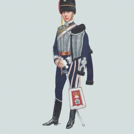 AZ13 Officer, The Yorkshire Hussars (Alexandra, Princess of Wales' Own) 1897
