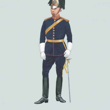 AZ15 Officer, Queen's Own Royal Glasgow Yeomanry, 1900