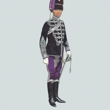 AZ16 Field Officer, Queen's Own Oxfordshire Hussars 1900