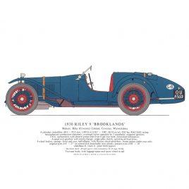 1930 Riley 9 'Brooklands'
