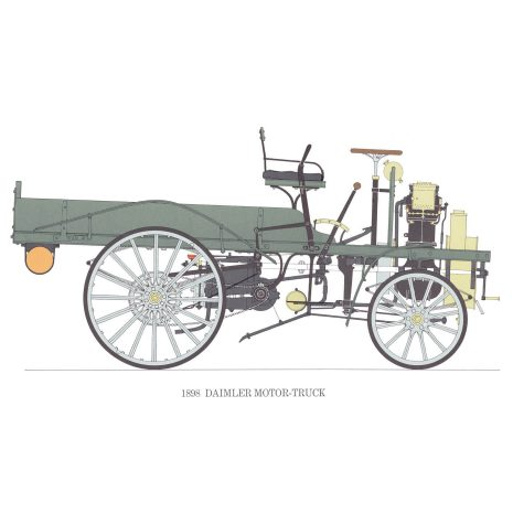 BB03 Daimler Motor-Truck