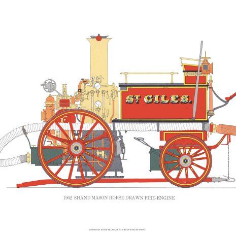 BB04 Shand Mason Horse Drawn Fire-engine