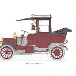 1908 Unic Taxicab
