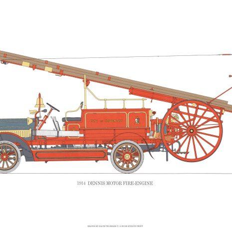 BB06 Dennis Motor Fire-engine