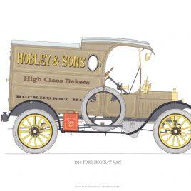 1914 Ford Model 'T' Van