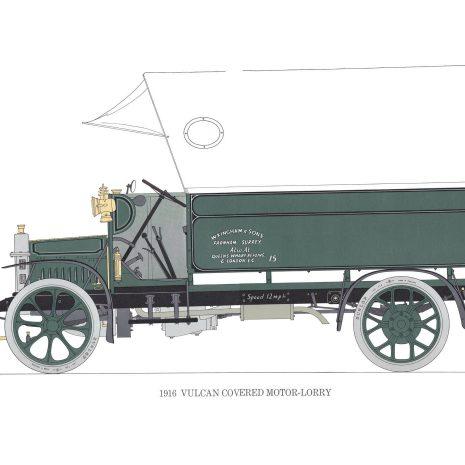 BB08 Vulcan Covered Motor-lorry