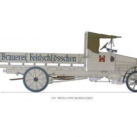 1917 Berna Open Motor-lorry