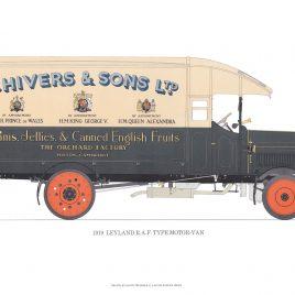 1919 Leyland R.A.F. Type Motor-Van