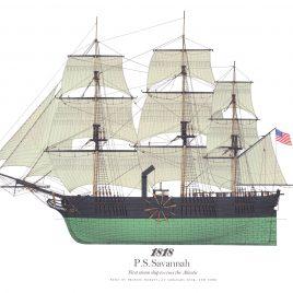 1818, S.S. Savannah