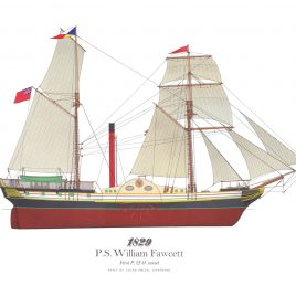 1829. P.S. William Fawcett