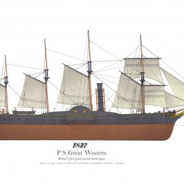 1837, P.S. Great Western